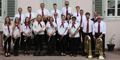 Unser Hauptorchester bei Musik im Schlosspark im Schloss Braunshardt 2017